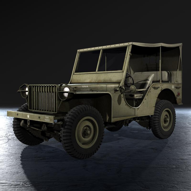 united states bantam brc 3d model