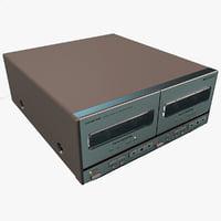 lightwave onkyo stereo double cassette
