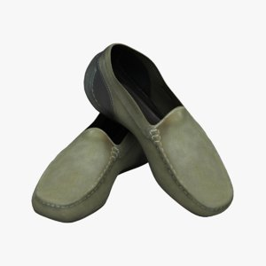 shoes men 3d model