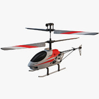 3d model utmost mini helicopter