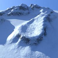 maya snow mountainous