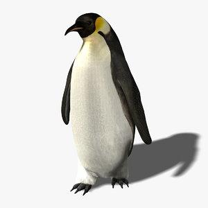 ma penguin fur rigged