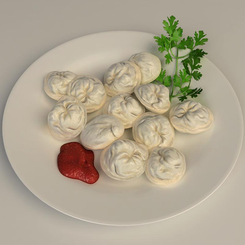 dumplings parsley fat 3ds