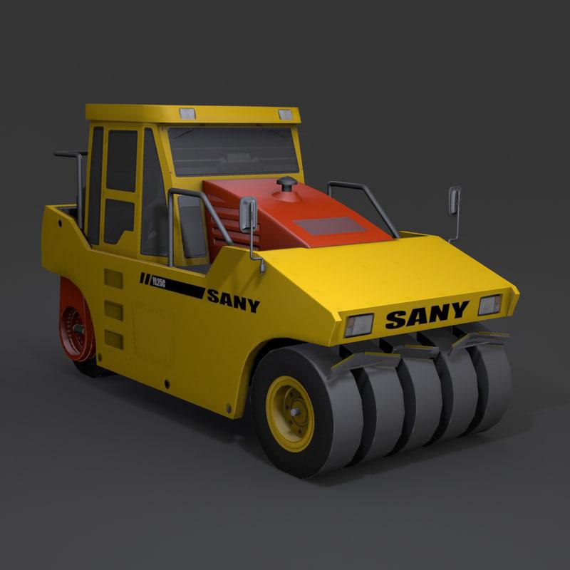 sany yl25c lp 3d model