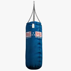 model punching bag