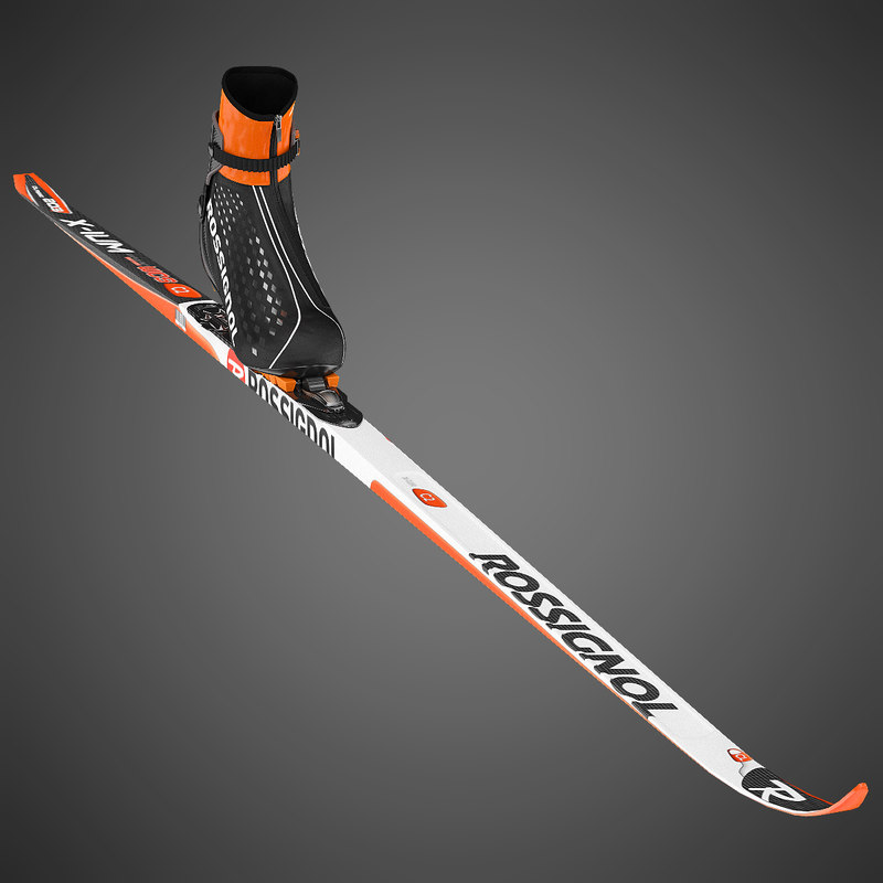 3ds biathlon skiing kit