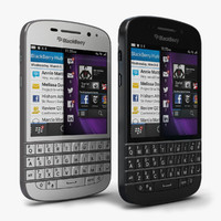 BlackBerry Q10 Black & White