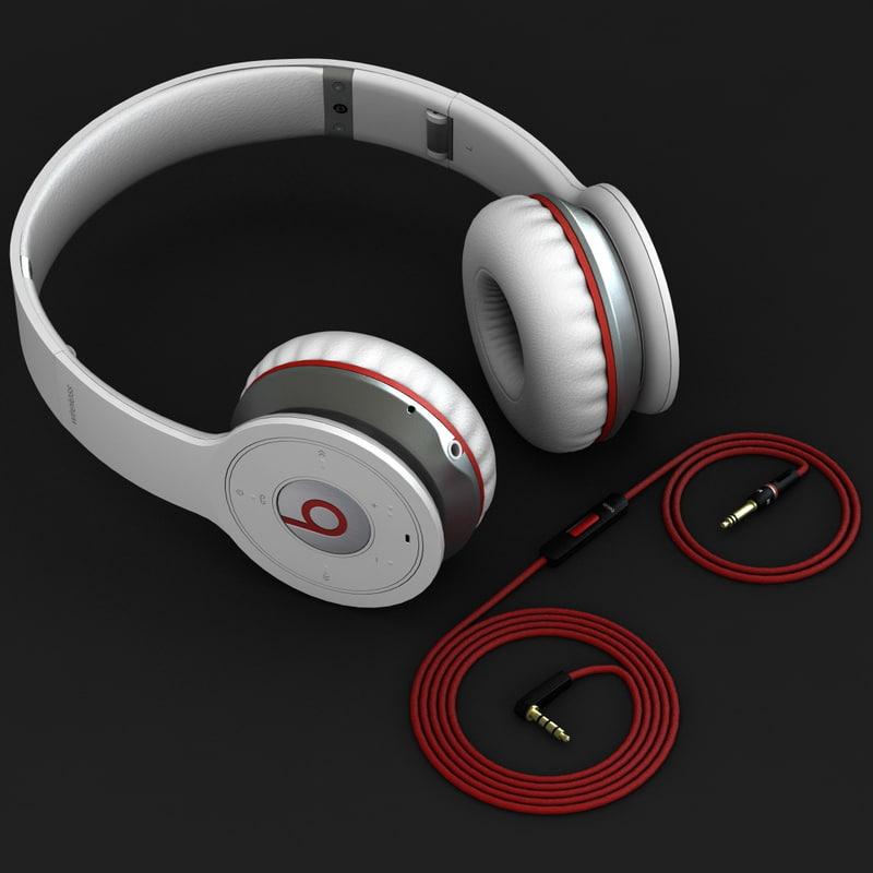 3d monster beats wireless headphones