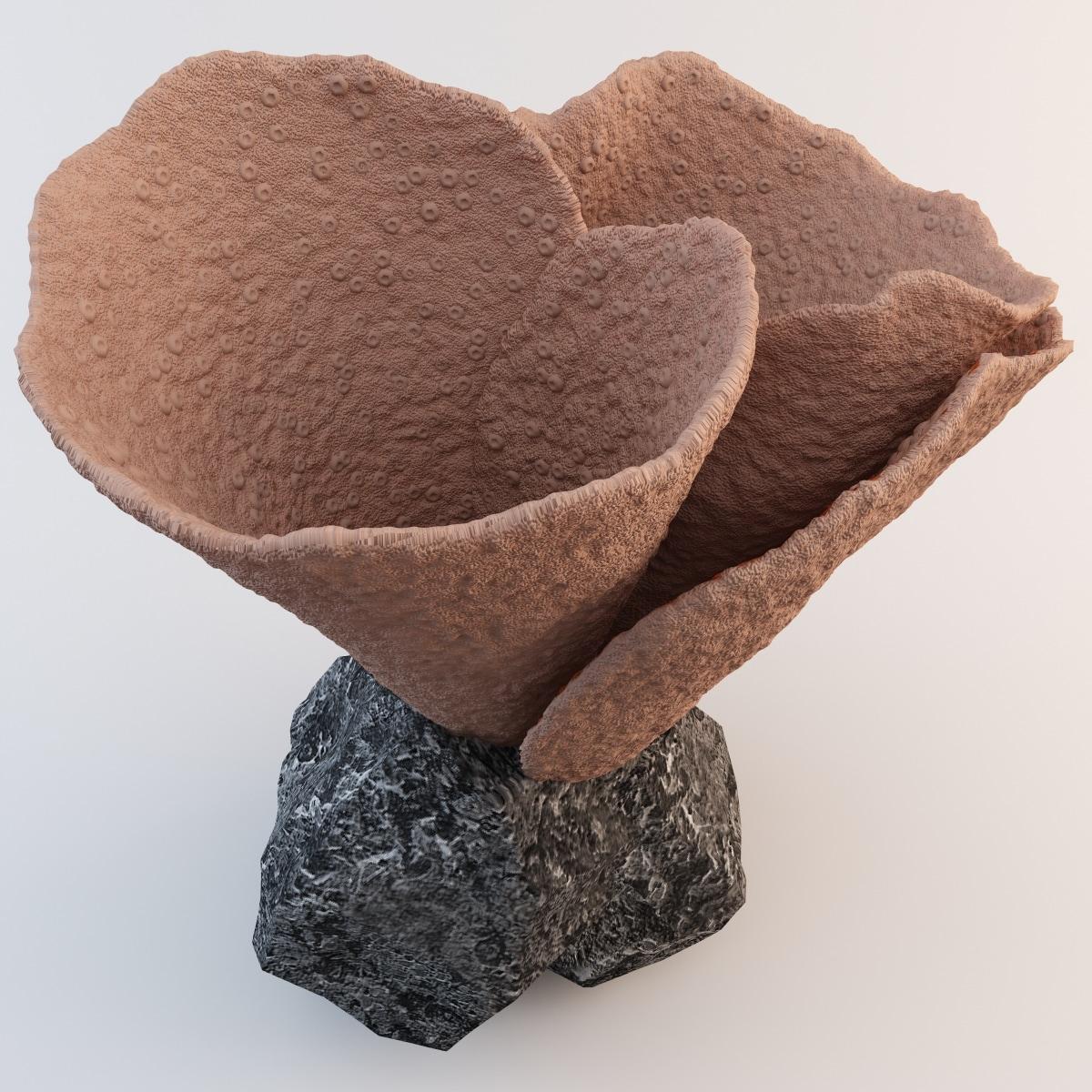 ice cream cone coral 3ds