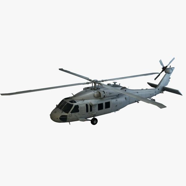 3d model s- skorsky helcopter