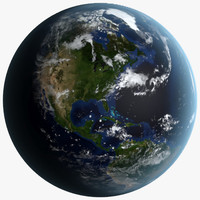 realistic earth 3d max