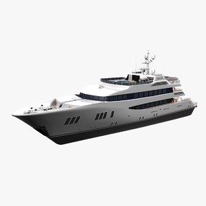 3ds max carpe diem yacht