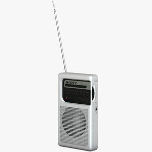 obj pocket radio sony icf-s10mk2
