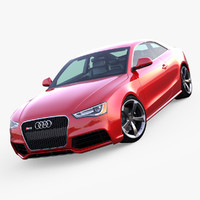 3d model of 2013 audi rs5