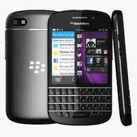 black berry q10 3d 3ds