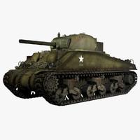 第二次世界大戦M4A4シャーマンV初期型中戦車