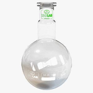 3d model flask size 6 -