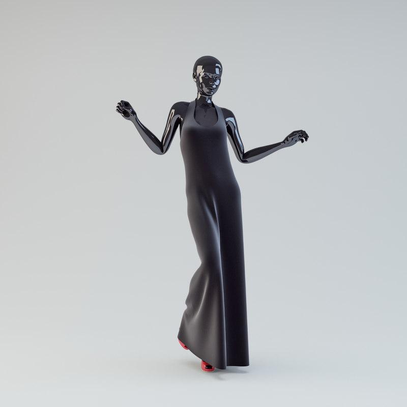 showroom mannequin 05 max