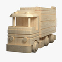 wooden car 3D models