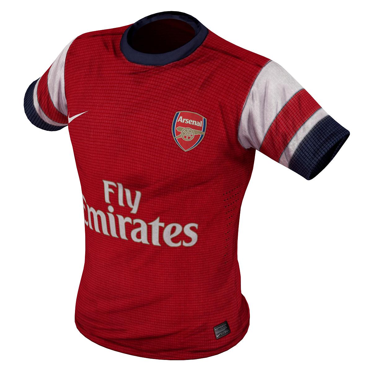 3ds max soccer shirt