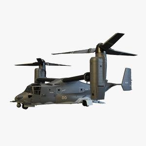 cv-22 osprey 3d model