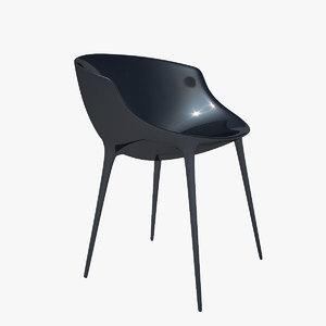 - driade b armchair 3d model