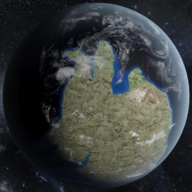 3dsmax earth 540