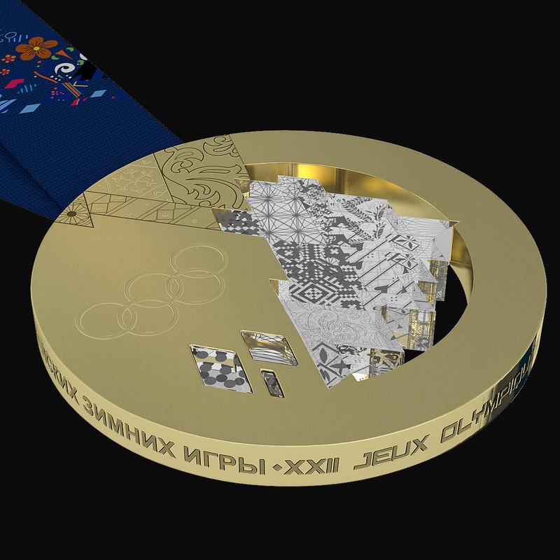 3d gold medal olympic sochi
