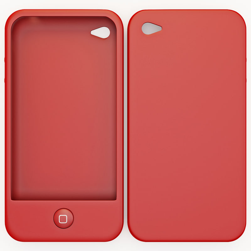 3d model iphone 4 case switcheasy