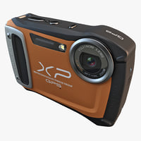 3d fujifilm xp170 compact digital camera model
