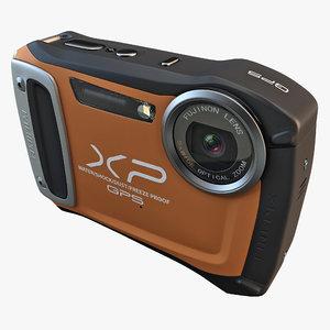3d fujifilm xp170 compact digital camera model