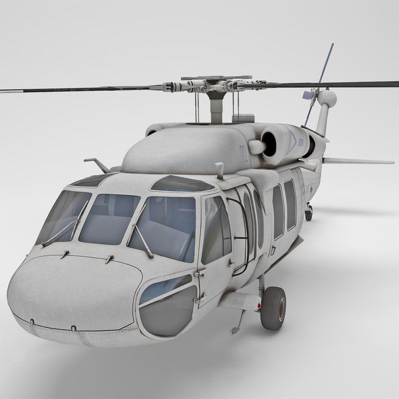 3d eh-60 black hawk 2 model