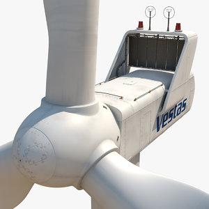 wind turbine 3d max