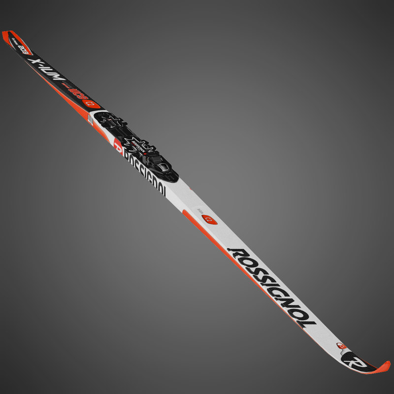 3d biathlon ski rossignol model