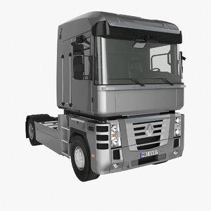 renault magnum facelift 3d model