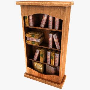 3dsmax bookshelf s