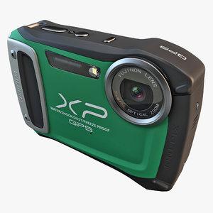 3d 3ds fujifilm xp170 compact digital camera