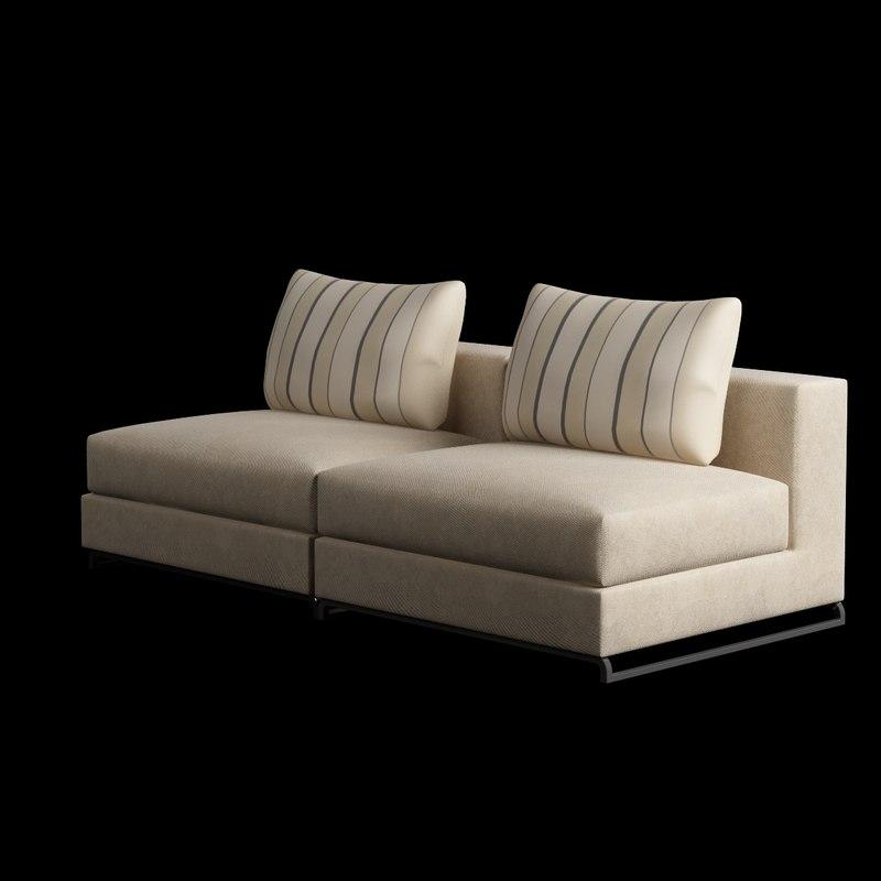 model chair armless