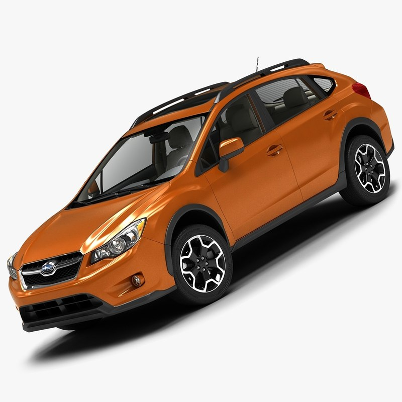 3d 2013 subaru xv crosstrek model