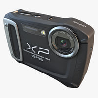 fujifilm xp170 compact digital camera 3d model