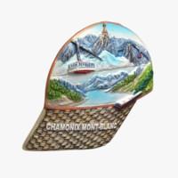 Chamonix Mont-Blanc Magnet Souvenir