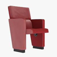 3d model poltrona frau pitagora armchair