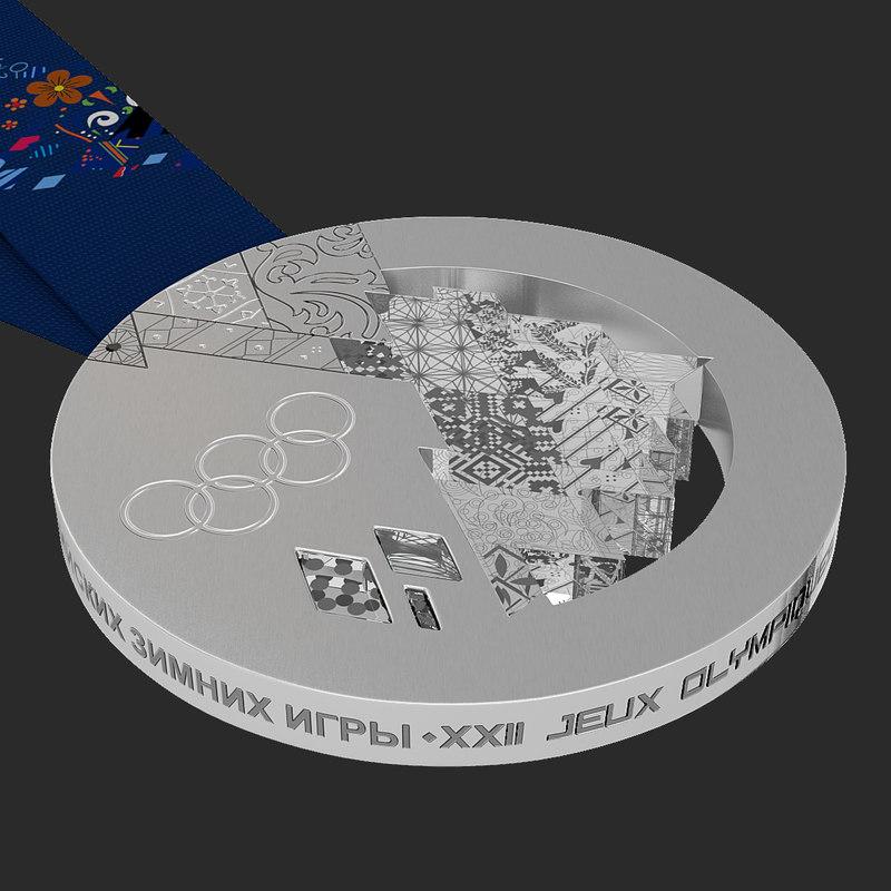 olympic silver medal sochi x