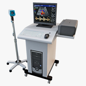 video digital colposcope kernel 3d c4d
