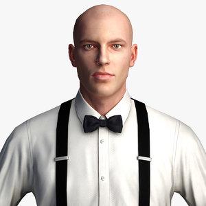 businessman - character games 3d max