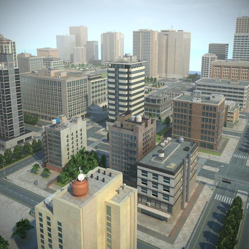 max city big cityscape