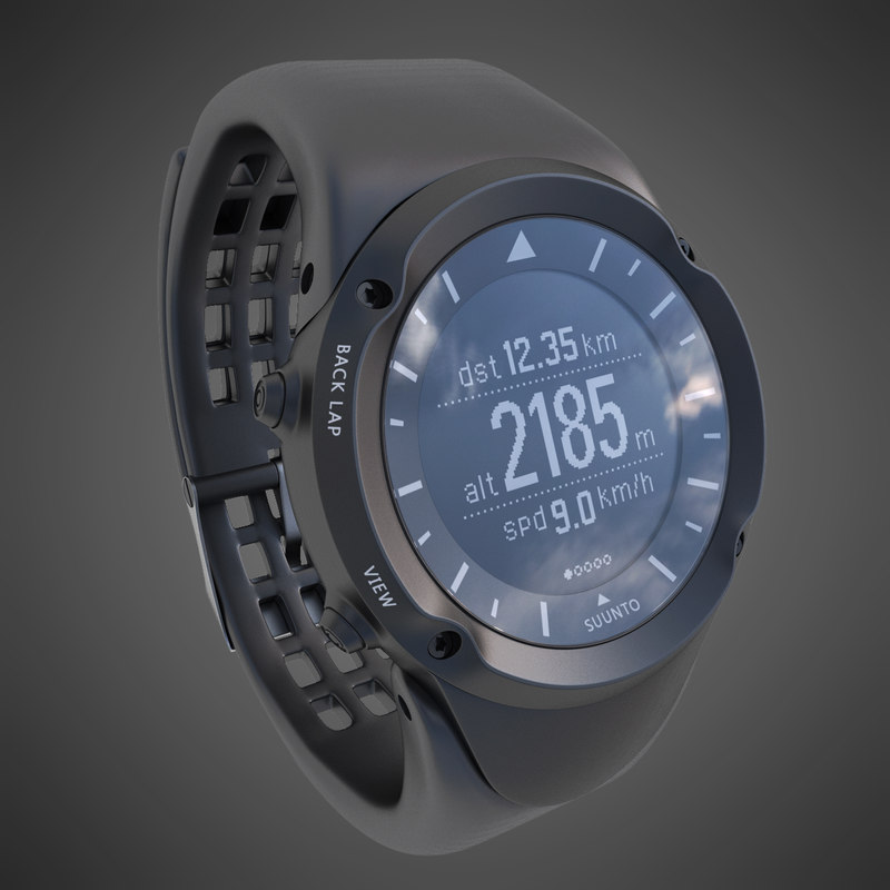 3d sport watch suunto ambit