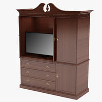 cupboard 2 3d 3ds
