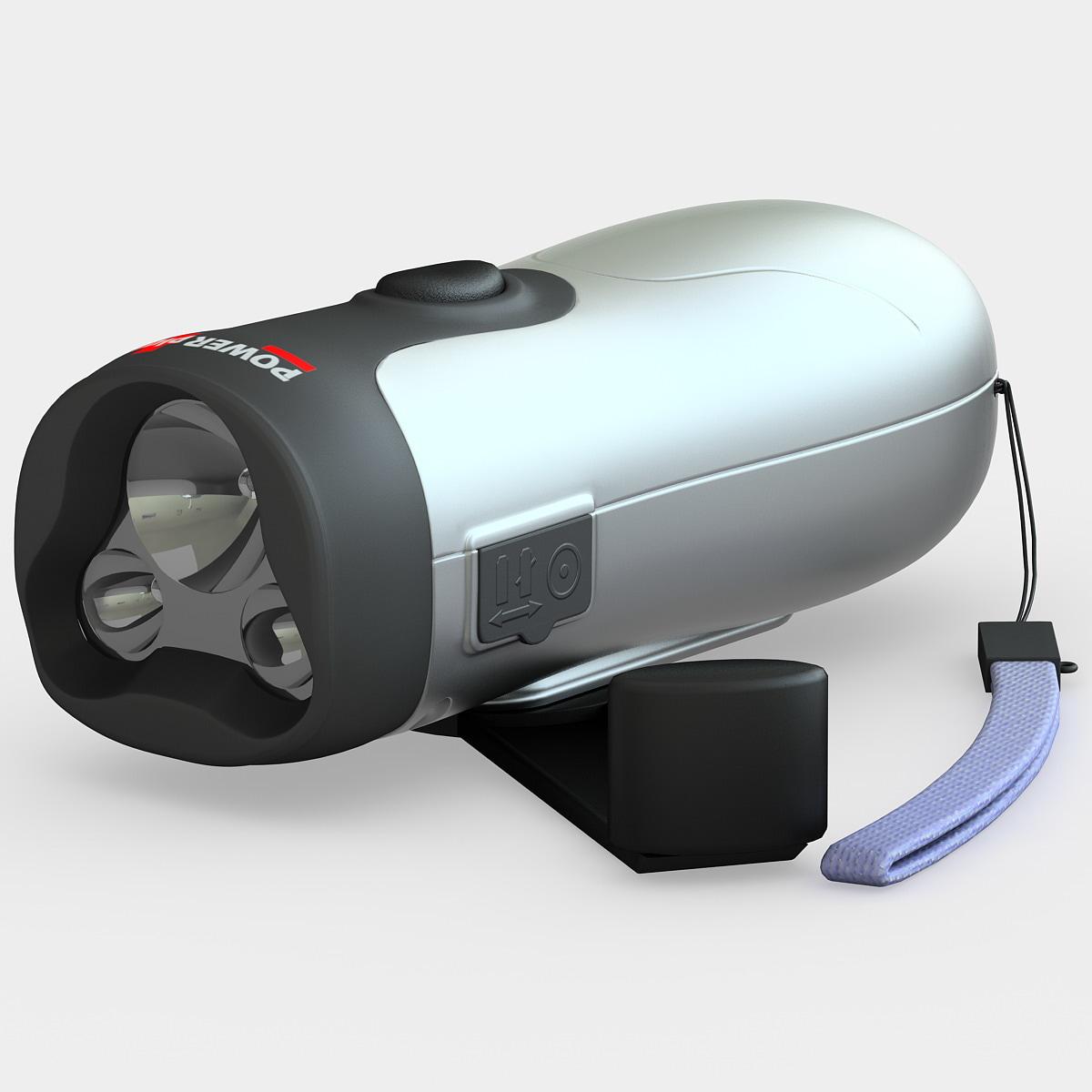 3d nighthawk flashlight model