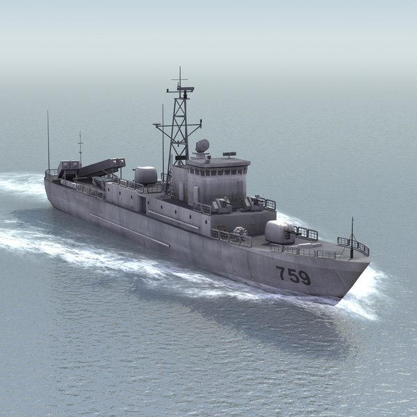 3d type037ig houxin boat